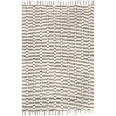 Wragby Hand-Knotted Beige Area Rug - Wayfair