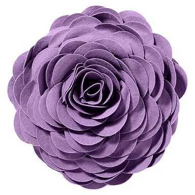 Flora Felt Pillow, Lavender - Pottery Barn Teen