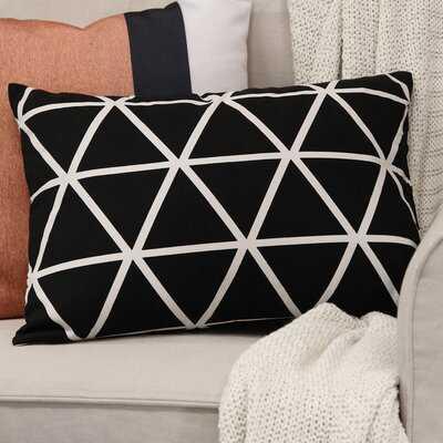 """Rianne Ebern Abstract 14"""" Lumbar Pillow Cover and Insert Pillow - Wayfair"""