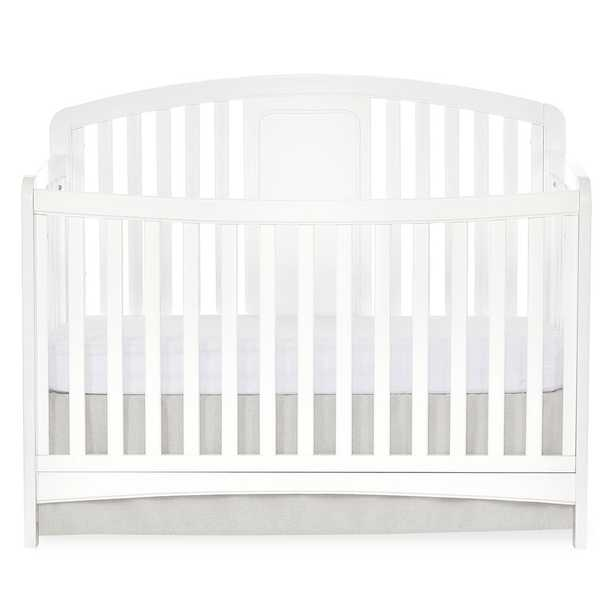 Slumber Baby Dakota 4 in 1 Convertible Crib, White - Home Depot