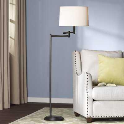 "Lilo 60"" Swing Arm Floor Lamp - Birch Lane"