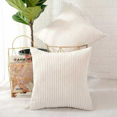 Ayedin 18'' Throw Pillow Cover (Set of 2) - Wayfair