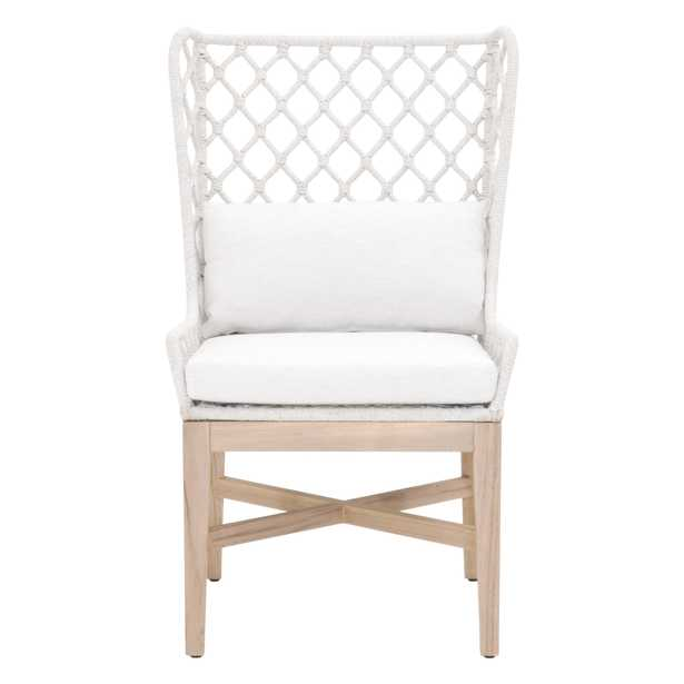 Lattis Outdoor Wing Chair - Alder House