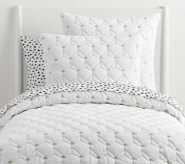 Coco Quilt, Full/Queen, Ivory - Pottery Barn Kids