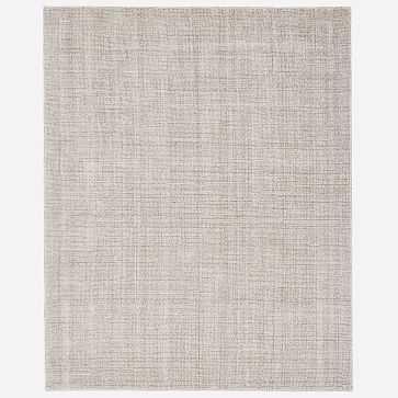 Glimmer Rug, 6x9, Pearl Gray - West Elm