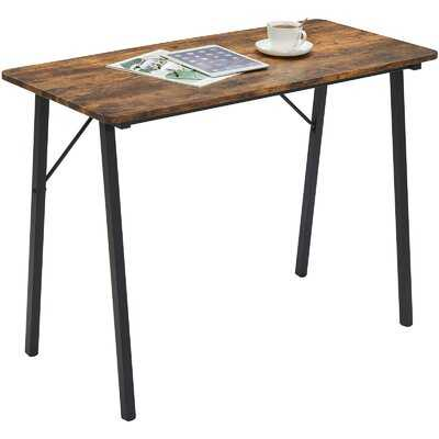 Small Home Office Desk With Metal Legs - Wayfair