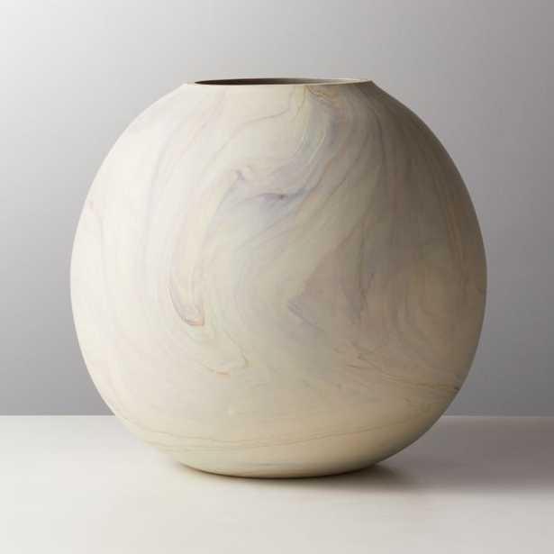 Sagen Round Glass Vase - CB2
