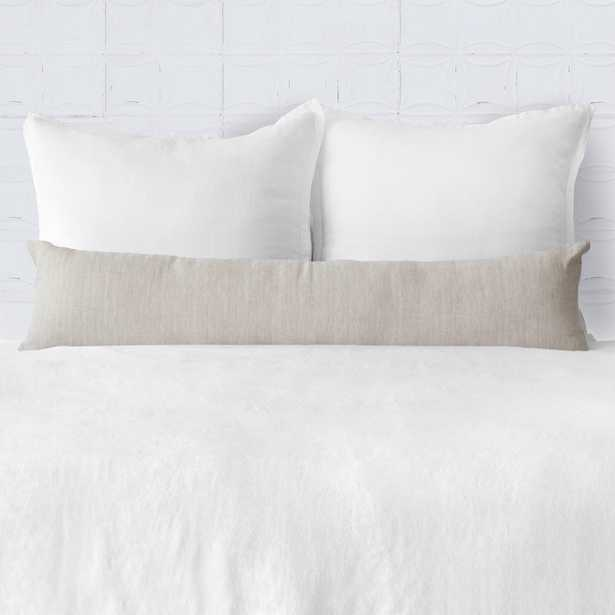 Prisha Linen Lumbar Pillow - Flax - 14''H x 54''W By The Citizenry - The Citizenry
