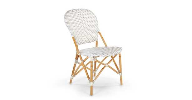 Toulouse Taupe / White Dining Chair - Article