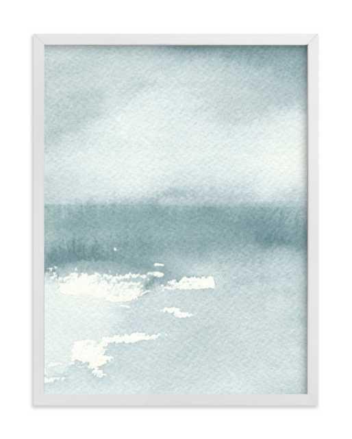 Ice On The Lake Art Print - Minted