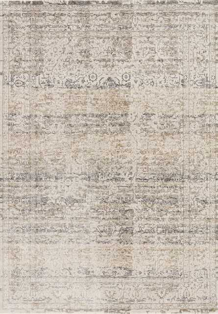 "Loloi Homage HOM-02 Beige / Grey 9'-6"" x 12'-5"" - Loma Threads"