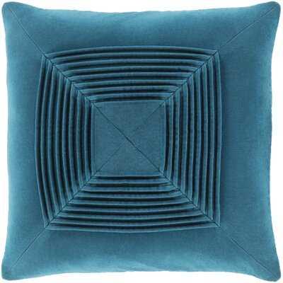 Wilfredo Textured Cotton Throw Pillow- polyester - Wayfair