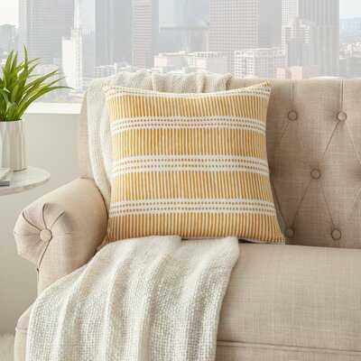 Alisson Cotton Striped Throw Pillow - Birch Lane
