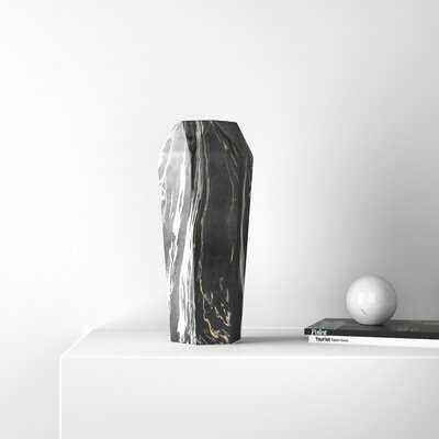 Silberman Glam Geometrical Ceramic Table Vase - AllModern