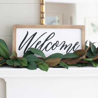Farmhouse Style Welcome Sign - Birch Lane