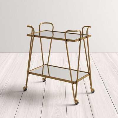 Lima Mid-Century Bar Cart - AllModern