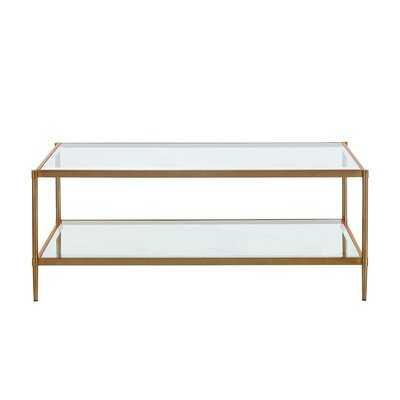 Decia Coffee Table with Storage - Wayfair