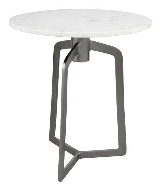 Rand Side Table Black & White - Zuri Studios