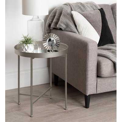 Dishman Cross Legs End Table - Wayfair