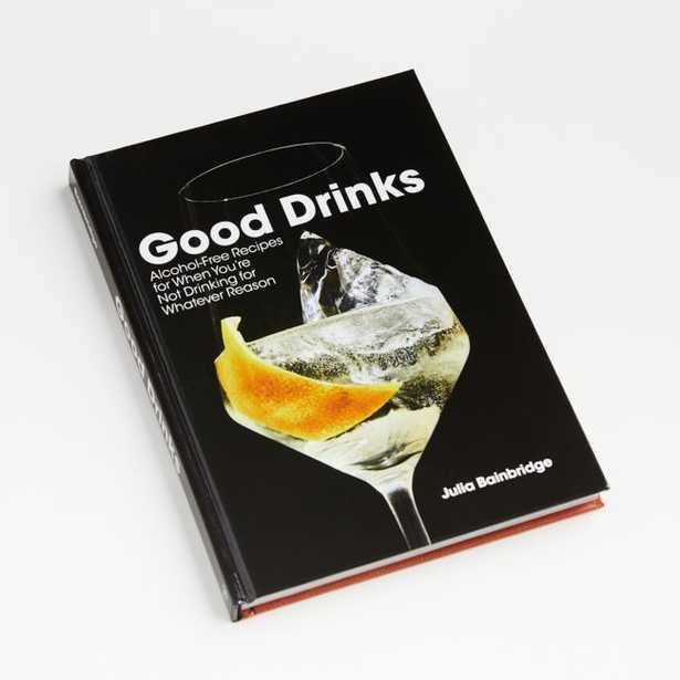 """""""Good Drinks"""" Book - Crate and Barrel"""