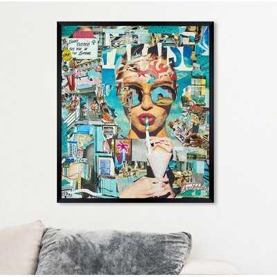 'Katy Hirschfeld - Summer Shores Fashion and Glam' - Graphic Art Print - Wayfair