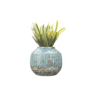 Mcneilly Large Distressed Terracotta Pot Planter - Birch Lane