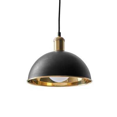 Tribeca Hubert 1-Light Dome Pendant - AllModern