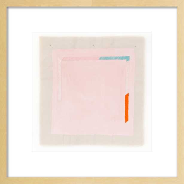 Pink with Turquoise Orange by Emily Keating Snyder for Artfully Walls - Artfully Walls