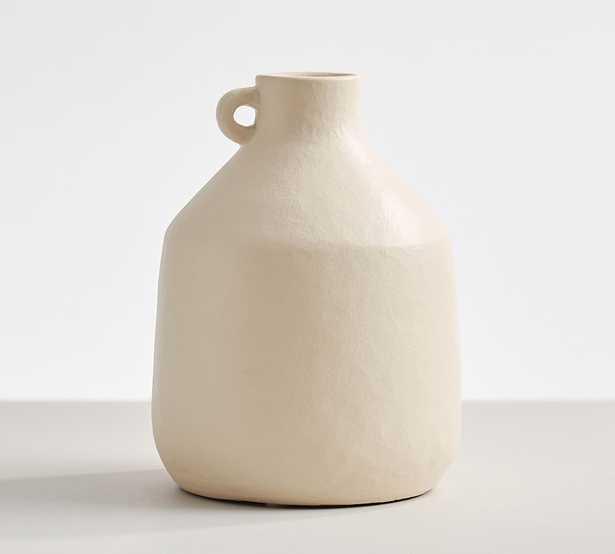 Studio Vase Collection, Jug, Off White - Pottery Barn
