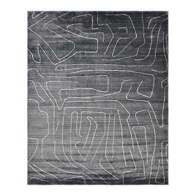 Solo Rugs Shyam Hand Loomed Wool Area Rug, Ivory, 8 x 10 - Wayfair
