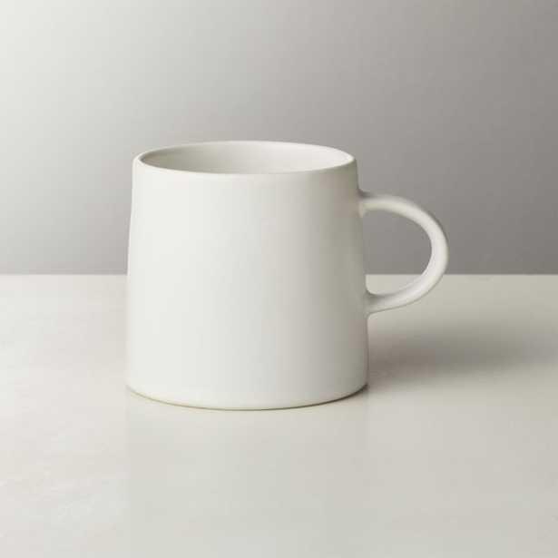 Valley Matte White Espresso Cup - CB2