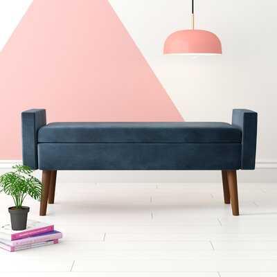 Mosier Upholstered Flip top Storage Bench - Wayfair
