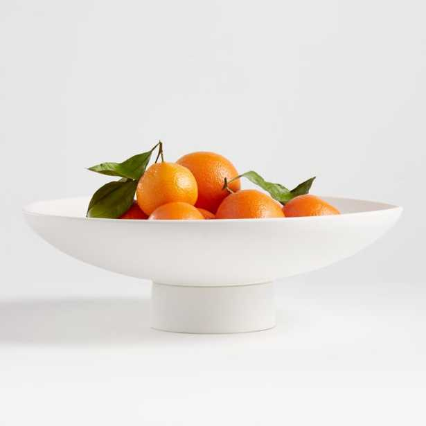 Sailor White Footed Bowl - Crate and Barrel