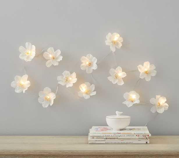 Crepe Paper Flower String Lights - Pottery Barn Kids