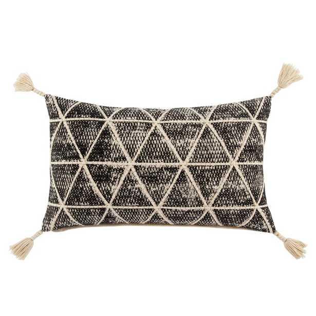 Omni Cordele Geometric Cotton Lumbar Pillow Fill Material: Down - Perigold