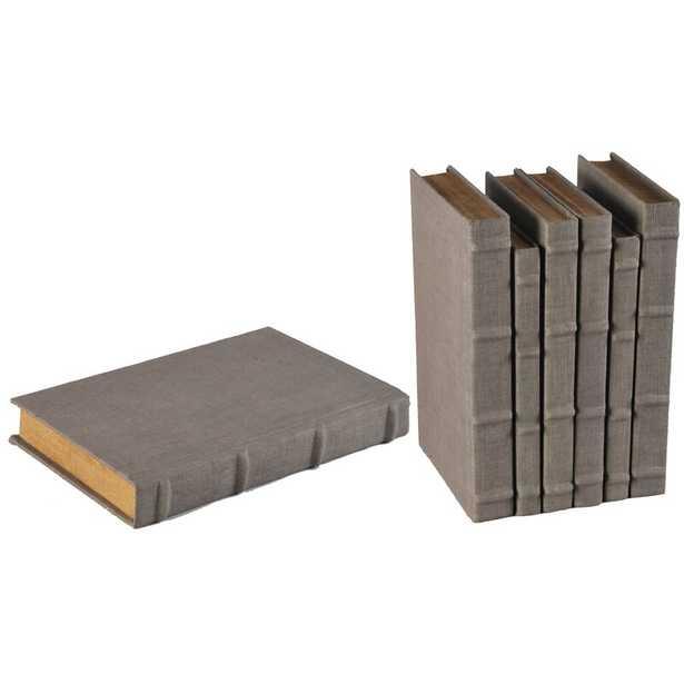 Sarreid Ltd 6 Piece Heather Decorative Book Set - Perigold
