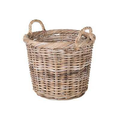 Skiatook Round Rattan Basket - Wayfair