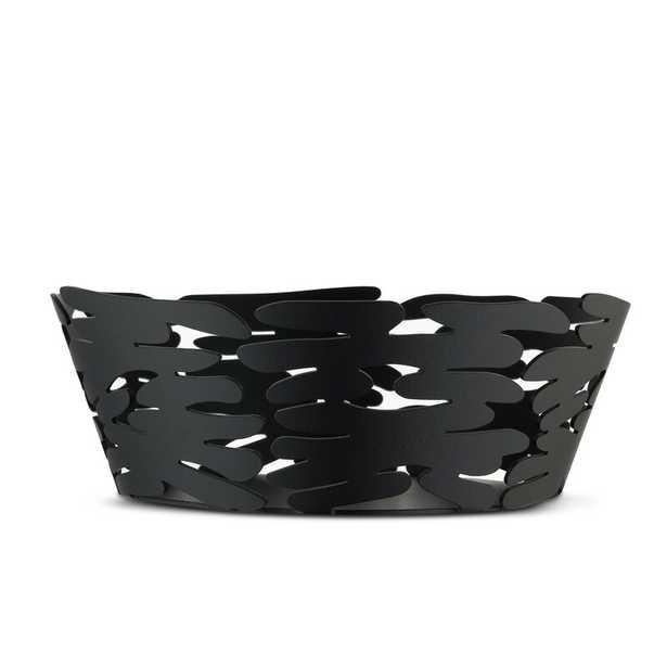 "Alessi Decorative Bowls Color: Black, Size: 2.56"" H x 7.09"" W x 7.09"" D - Perigold"