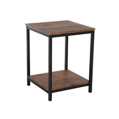 Carlock End Table with Storage - Wayfair