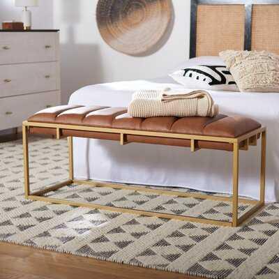 Meurer Upholstered Bench - Wayfair