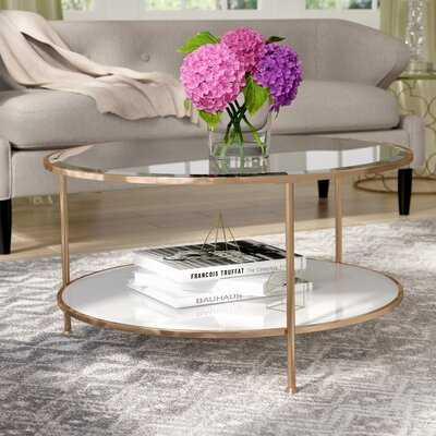 Schroeders Coffee Table with Storage - Wayfair