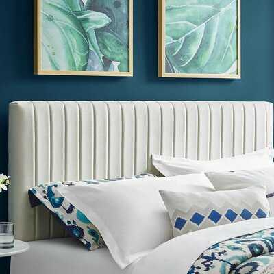 Sevenoaks Upholstered Panel Headboard - Wayfair