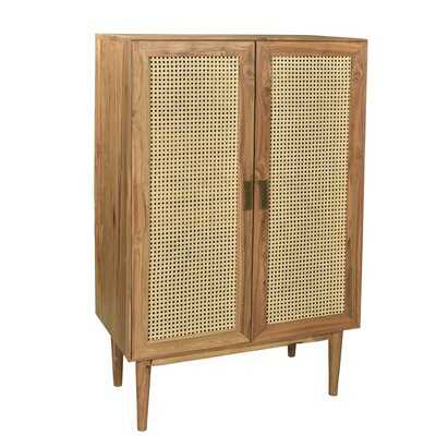 Reeves Caned Armoire - AllModern