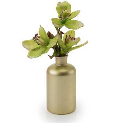 Gold 3.5'' Glass Table Vase - Wayfair