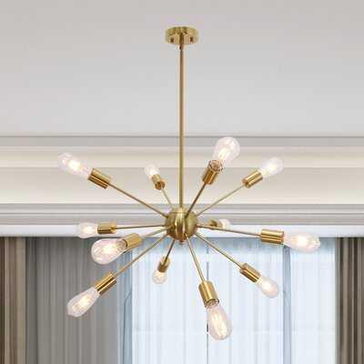 Nasser 12 - Light Sputnik Sphere Chandelier - Wayfair