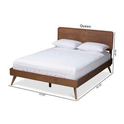 Colletti Mid-Century Modern Platform Bed - AllModern