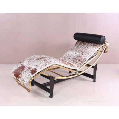 Emilio Cowhide Chaise Lounge - Wayfair