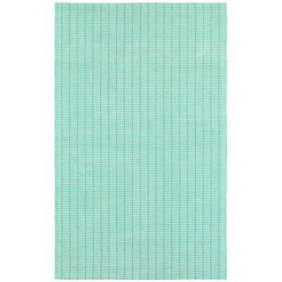 Rudel Hand Woven Cotton Mint Green Area Rug - Wayfair