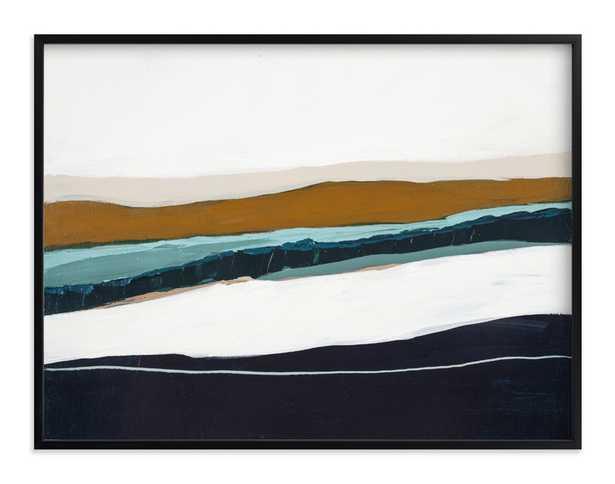 Moonlight Seascape Art Print - Minted