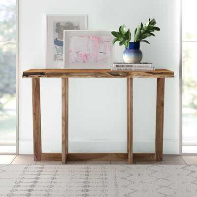 "Beyers 48"" Solid Wood Console Table - Wayfair"